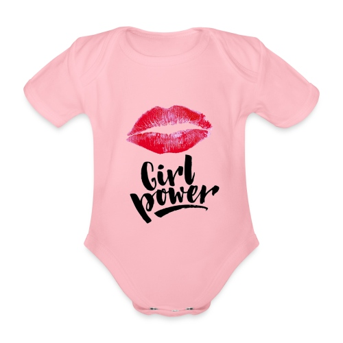 Girl Power - Body Bébé bio manches courtes