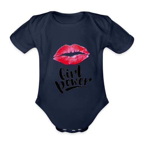 Girl Power - Body Bébé bio manches courtes