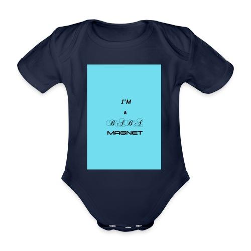 BABE MAGNET - Organic Short-sleeved Baby Bodysuit