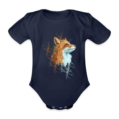 Happy the Fox - Baby Bio-Kurzarm-Body