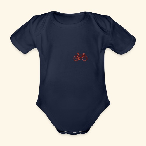 Rennrad, Race-Bike, Velo - Baby Bio-Kurzarm-Body