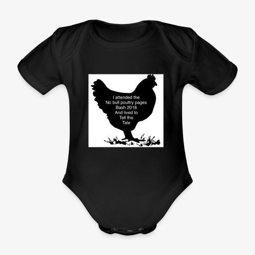 2DE2ADD8 8397 41E2 B462 85931C4D203C - Organic Short-sleeved Baby Bodysuit