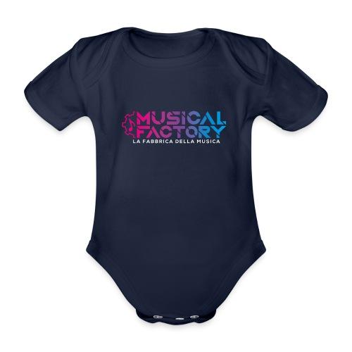 Musical Factory Sign - Body ecologico per neonato a manica corta