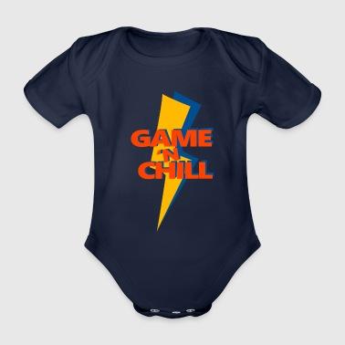 Game 'n Chill - Organic Short-sleeved Baby Bodysuit
