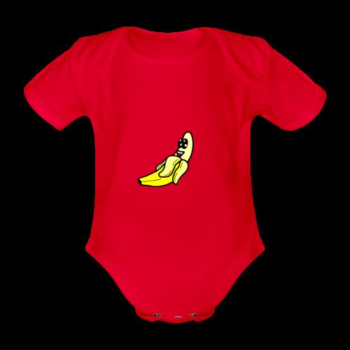 Banana - Body Bébé bio manches courtes
