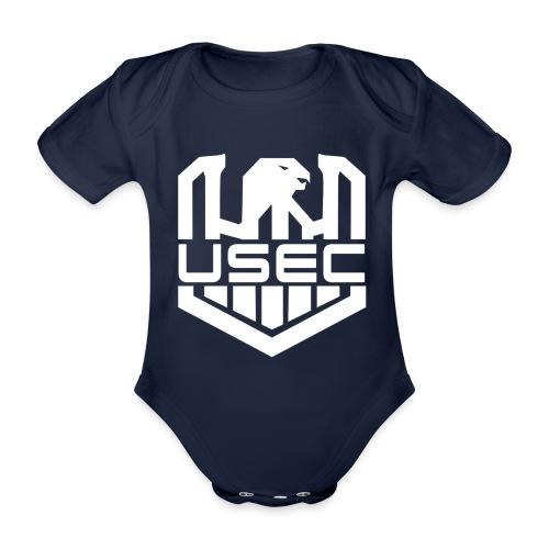 USEC - Body Bébé bio manches courtes