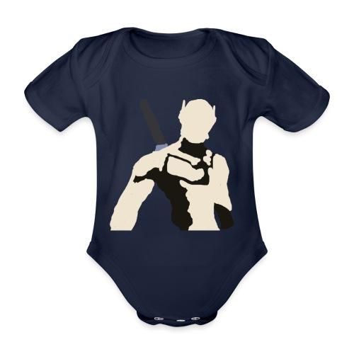 Genji - Ekologiczne body niemowlęce z krótkim rękawem