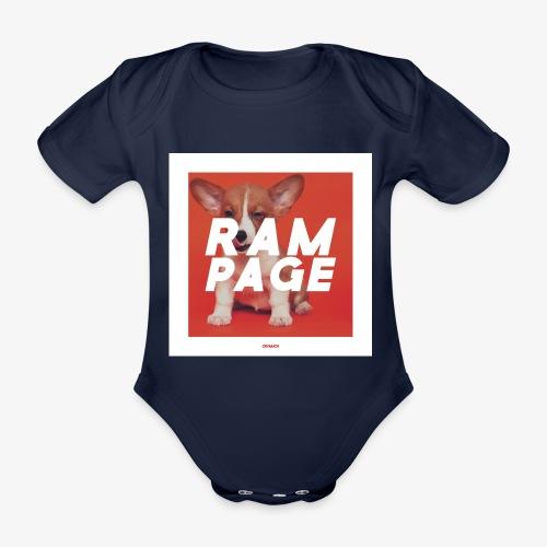 RAMPAGE #01 - Baby Bio-Kurzarm-Body