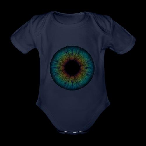 Iris - Baby Bio-Kurzarm-Body