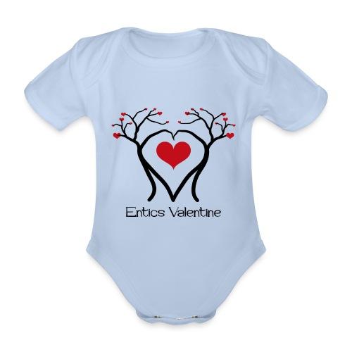 Saint Valentin des Ents - Body Bébé bio manches courtes