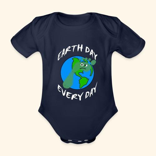 Earth Day Every Day - Baby Bio-Kurzarm-Body