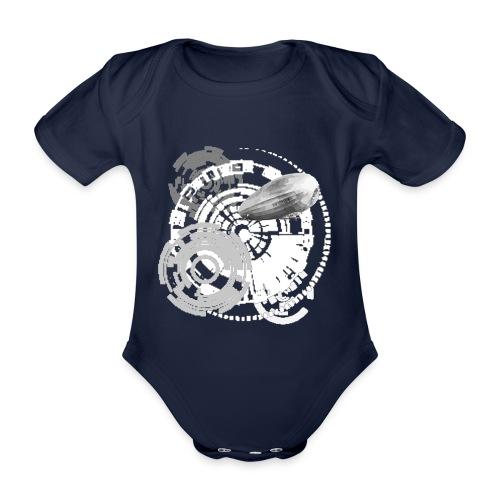 zeppelin - Baby Bio-Kurzarm-Body