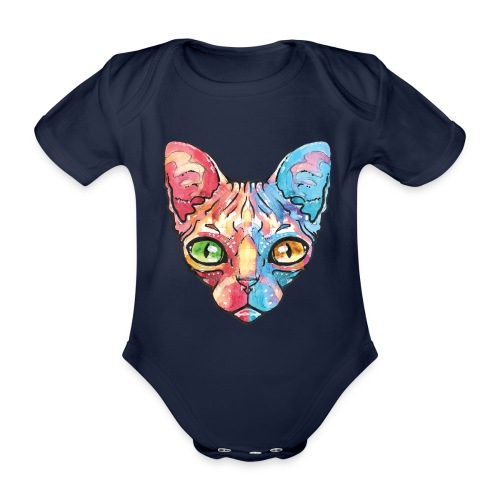 EgyptianCat - Baby Bio-Kurzarm-Body