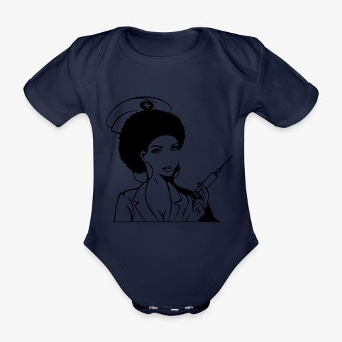 Nurse - Vauvan lyhythihainen luomu-body
