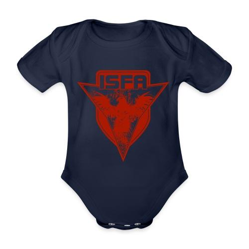 isfa logo 1c rot - Baby Bio-Kurzarm-Body