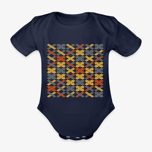 Autobahnkreuze Mesh - Baby Bio-Kurzarm-Body