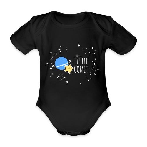 Little Comet - Vauvan lyhythihainen luomu-body