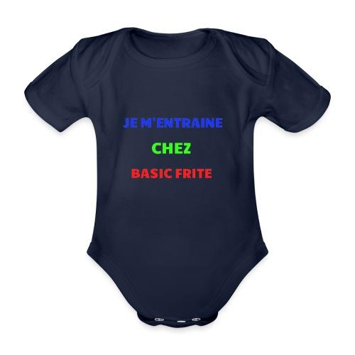 Basic Frite - Body Bébé bio manches courtes