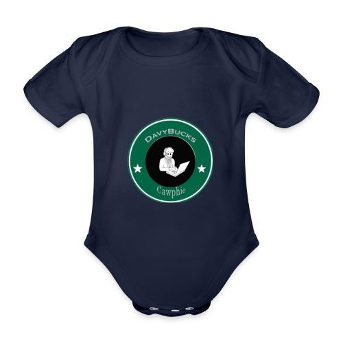 DavyBucks - Baby bio-rompertje met korte mouwen