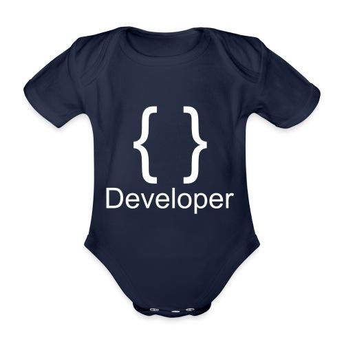 Developer - Baby Bio-Kurzarm-Body