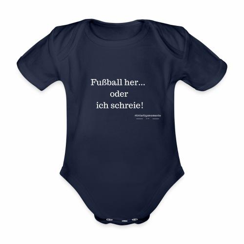 #Unterligamomente - Baby Bio-Kurzarm-Body