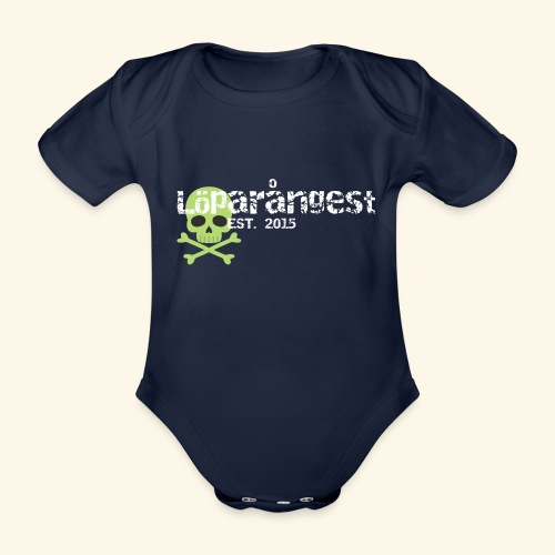 loeparangest - Ekologisk kortärmad babybody