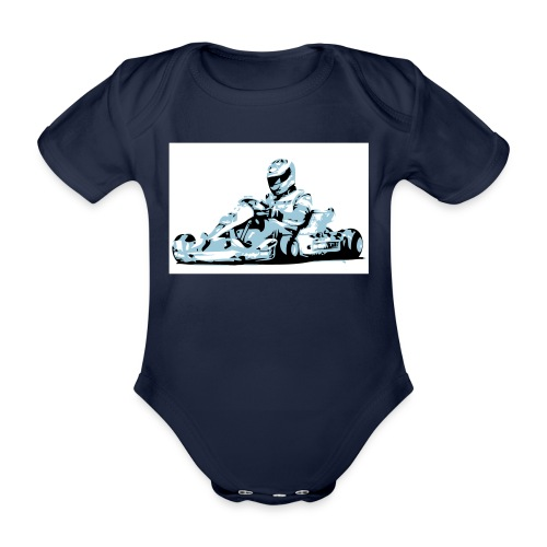 Kartracer - Baby Bio-Kurzarm-Body