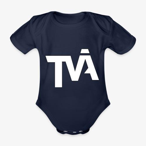 TVÅHUNDRA VIT - Ekologisk kortärmad babybody