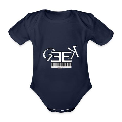GEEK II - Body Bébé bio manches courtes