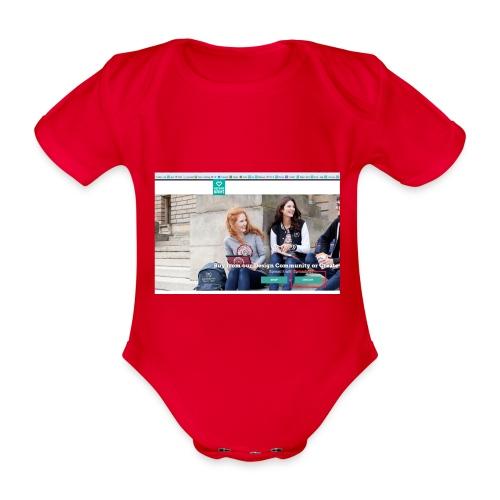 user2 - Organic Short-sleeved Baby Bodysuit