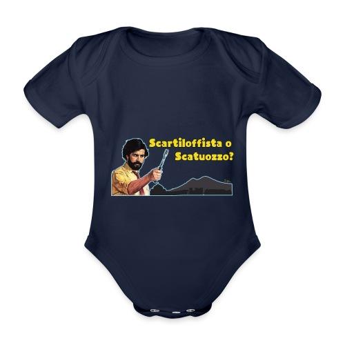 Scartiloffista o Scatuozzo? - Body ecologico per neonato a manica corta