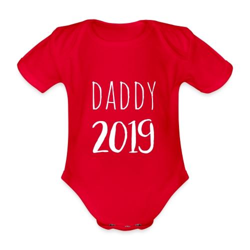 Daddy 2019 - Baby Bio-Kurzarm-Body