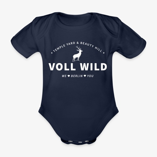 Voll wild // Temple Yard & Beauty Hill - Baby Bio-Kurzarm-Body