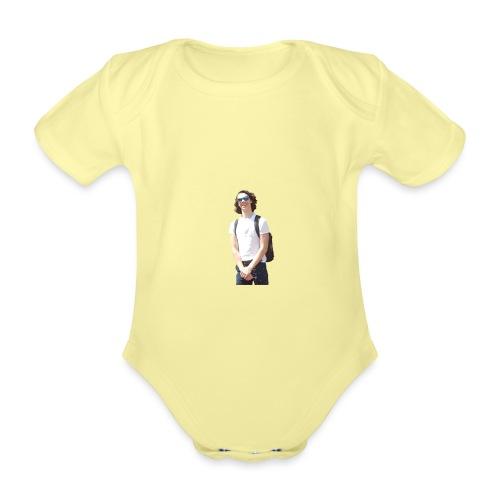 Noah Ras For president - Baby bio-rompertje met korte mouwen