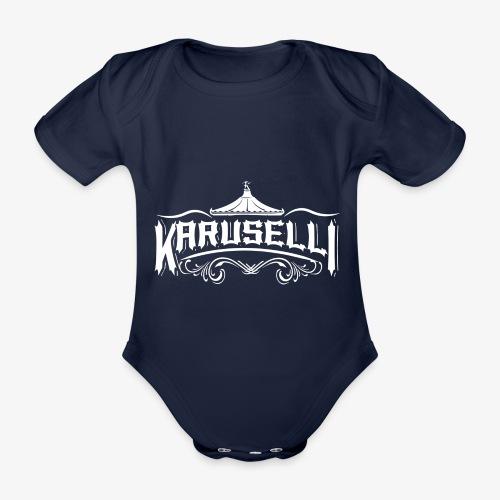 Karuselli - Vauvan lyhythihainen luomu-body