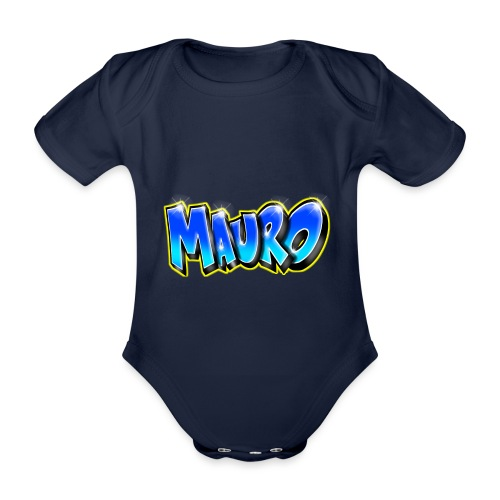 MAURO GRAFFITI NAME - Body Bébé bio manches courtes