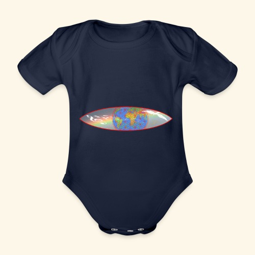 Heal the World - Baby Bio-Kurzarm-Body
