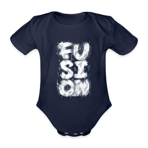 Fusion - Organic Short-sleeved Baby Bodysuit