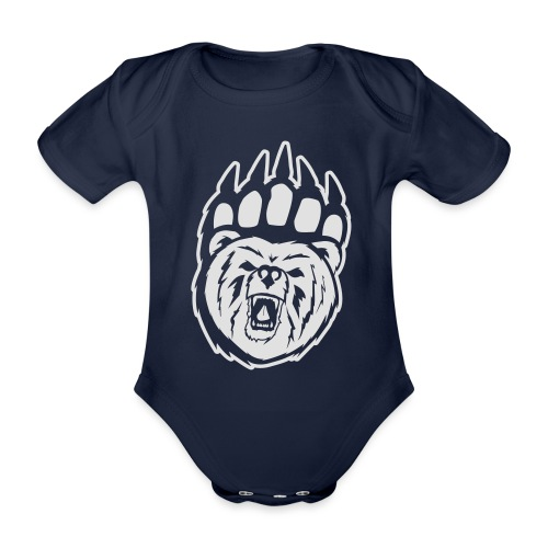 Dam T-shirt Svart/Rosa - Ekologisk kortärmad babybody