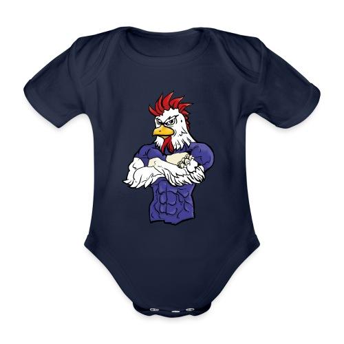 l'equipe - Organic Short-sleeved Baby Bodysuit