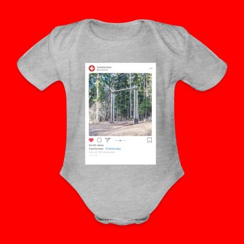 travelsuisse - Chur Fuerstenwald 1 - Baby Bio-Kurzarm-Body