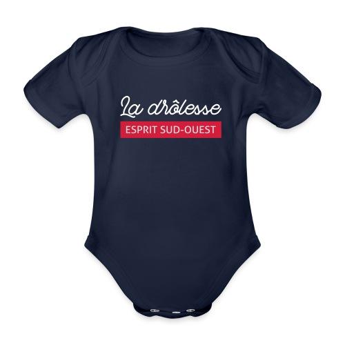 La drôlesse - Body Bébé bio manches courtes
