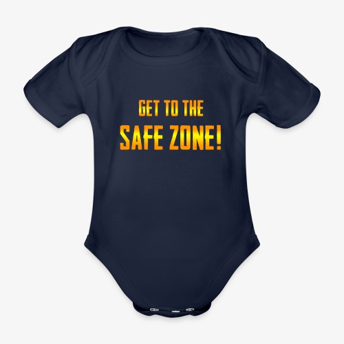 PUBG Get to the safe zone! - Baby Bio-Kurzarm-Body