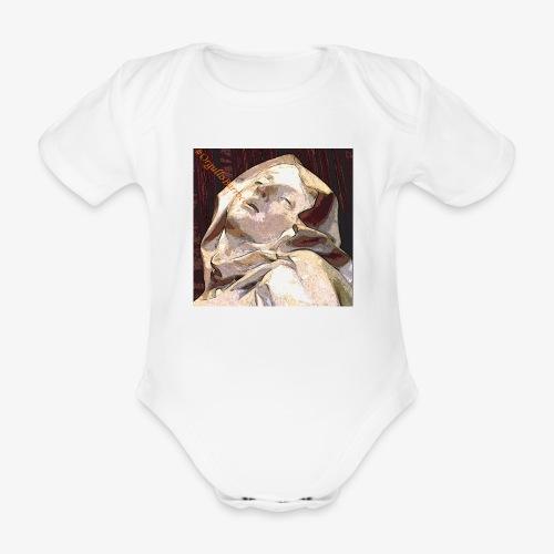 #OrgulloBarroco Teresa - Body orgánico de manga corta para bebé