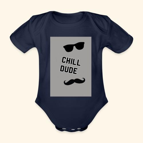 Cool tops - Organic Short-sleeved Baby Bodysuit