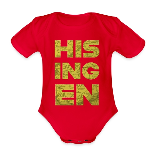 Hisingens Karta - Ekologisk kortärmad babybody
