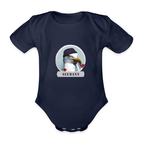 Seemann - Baby Bio-Kurzarm-Body