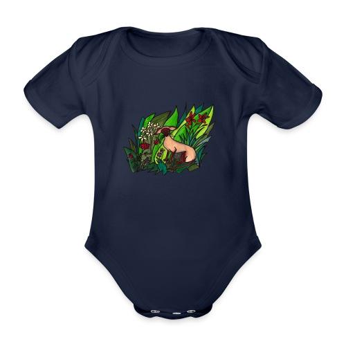 Funtes trädgård - Ekologisk kortärmad babybody