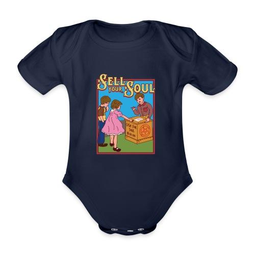 Sell your soul - Verkauf Deine Seele - Baby Bio-Kurzarm-Body