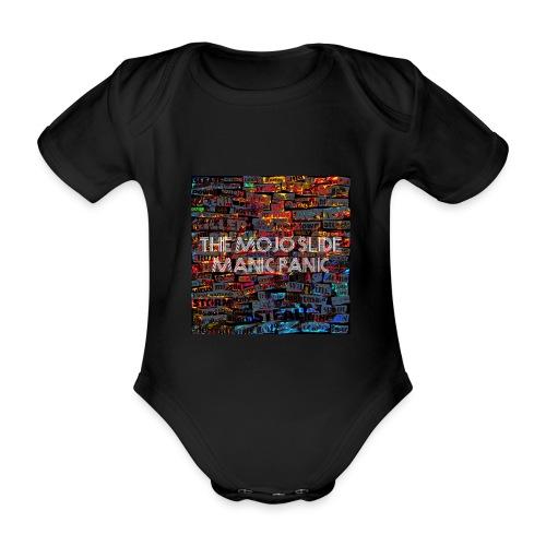 Manic Panic - Design 1 - Organic Short-sleeved Baby Bodysuit